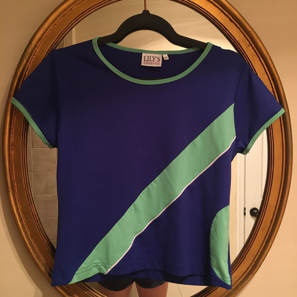 c90d163e646dba Vintage Tops - Lily s of Beverly Hills vintage golf shirt